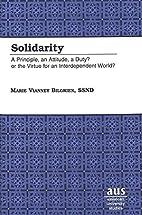 Solidarity : a principle, an attitude, a…