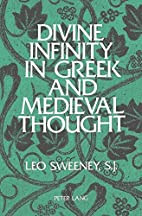 Divine Infinity in Greek and Medieval…