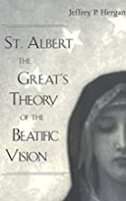 St. Albert the Great's Theory of the…