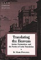 Translating the Heavens: Aratus, Germanicus,…