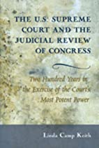 The U.S. Supreme Court and the Judicial…