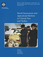 Social assessment and agricultural reform in…