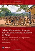 School Construction Strategies for Universal…