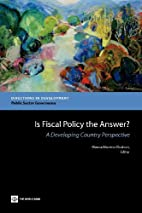 Is Fiscal Policy the Answer?: A Developing…