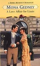 A Love Affair For Lizzie (Zebra Regency…