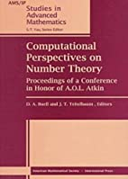 Computational Perspectives on Number Theory:…