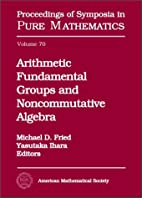 Arithmetic Fundamental Groups and…