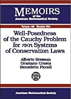 Well-Posedness of the Cauchy Problem for Nxn…