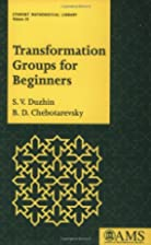 Transformation Groups for Beginners by S. V.…