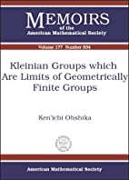 Kleinian Groups Which Are Limits of…