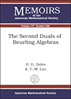 The Second Duals of Beurling Algebras…