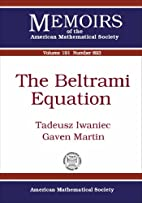 The Beltrami Equation (Memoirs of the…