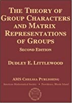 The Theory of Group Characters and Matrix…