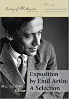 Exposition by Emil Artin: A Selection…