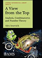 A View from the Top: Analysis, Combinatorics…