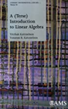 A (Terse) Introduction to Linear Algebra by…