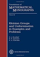 Kleinian Groups and Uniformization in…