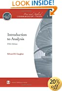 Introduction to Analysis (Pure and Applied Undergraduate Texts)