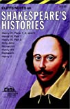 Cliffs: Cliffsnotes Shakespeare&#39;s Histories
