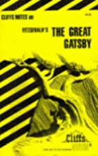 CliffsNotes on Fitzgerald's The Great Gatsby…