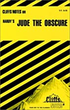 CliffsNotes on Hardy's Jude the Obscure by…