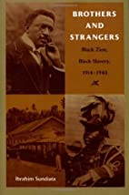 Brothers and Strangers: Black Zion, Black…