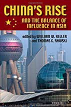 China's Rise and the Balance of Influence in…