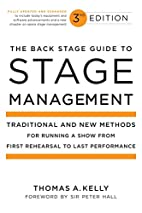 The Back Stage Guide to Stage Management by…