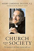 Church and Society: The Laurence J. McGinley…