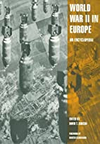 World War II in Europe: An Encyclopedia…