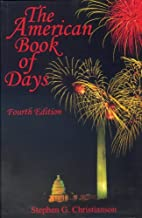 American Book of Days by Stephen G.…