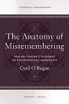 Anatomy of Misremembering: Von Balthasar's…