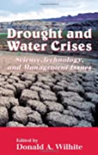 Drought and Water Crises: Science,…