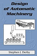 Design of Automatic Machinery (Mechanical…