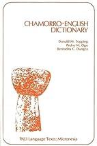 Chamorro-English Dictionary by Donald…