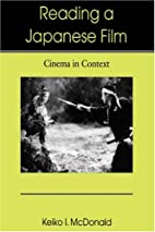 Reading a Japanese Film: Cinema in Context…