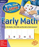 Edited: Write, Slide, and Learn!: Early Math (Write, Slide & Learn)