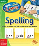 Edited: Write, Slide, and Learn!: Spelling (Write, Slide & Learn)