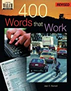 400 Words That Work: A Life Skills…