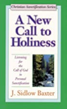A new call to holiness; a restudy and…