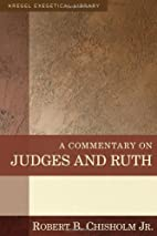 A Commentary on Judges and Ruth (Kregel…