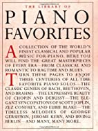Library of Piano Favorites (Library of…