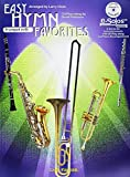 Larry Clark: Easy Hymn Favorites (Trumpet in B flat) (Book and CD)