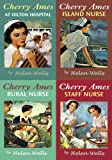 Wells, Helen: Cherry Ames Box Set books 13-16: At Hilton Hospital, Island Nurse, Rural Nurse and Staff Nurse
