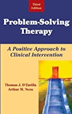 Problem-Solving Therapy: A Positive Approach…