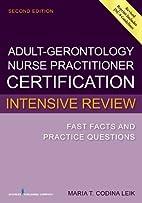 Adult-Gerontology Nurse Practitioner…