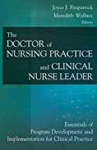 The Doctor of Nursing Practice and Clinical…