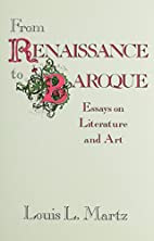 From Renaissance to Baroque : essays on…