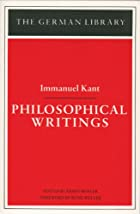 Philosophical Writings (German Library) by…