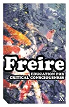 Education for Critical Consciousness by…